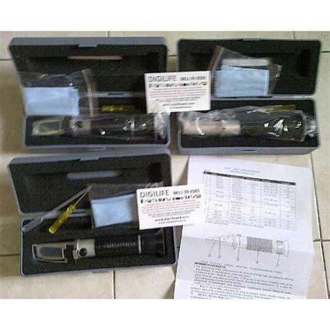 Refractometer Brix Test Optical 0 32 Ukur Kadar Gula Manis Kemanisan refractometer protein 0 12g urine 1 000 1 050sg