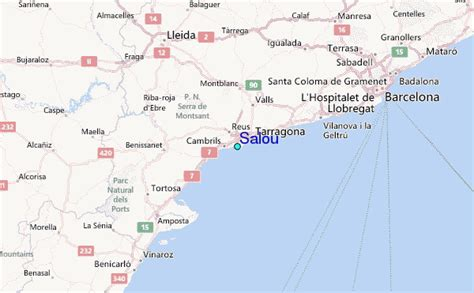 regional map local map detailed map salou tide station location guide