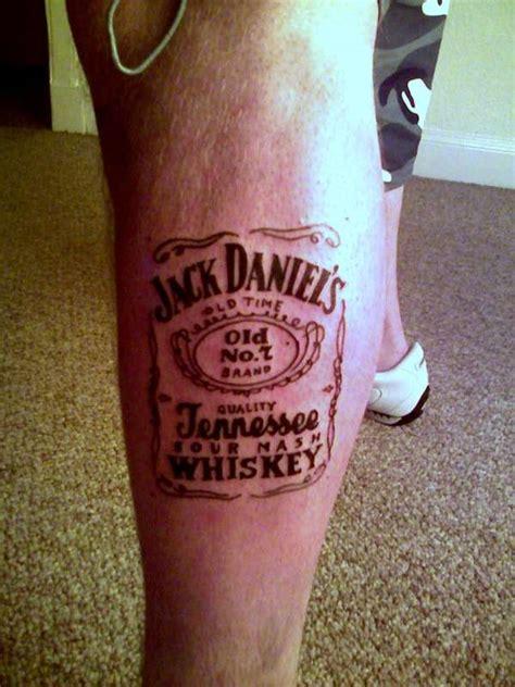 jack daniels tattoo designs 8 tattoos on leg