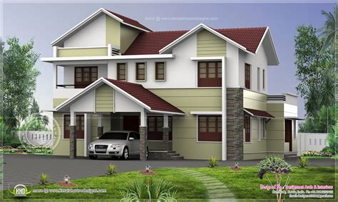 Exterior Home Design For Small House In India Exterior House Colors India Modern House