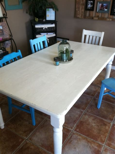 baeza blog distressed dining table