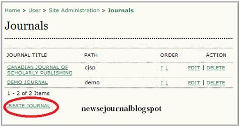 cara membuat jurnal voucher cara membuat jurnal baru pada ojs blog tentang jurnal