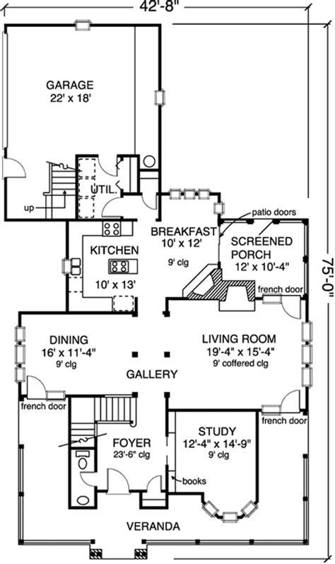 Veranda Floor Plan by House With Veranda Plans House Design Plans