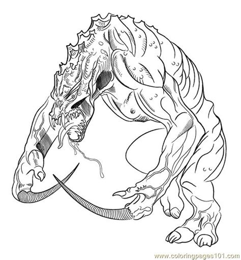 lizard man coloring pages free coloring pages of lizard man