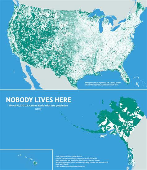 all the map true heroes of lives of musician series books アメリカの広大な国土の約50 には誰も住んでいないことがよくわかる地図 gigazine
