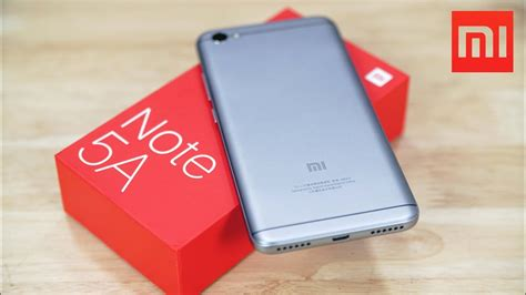 Mi 5a xiaomi redmi note 5a unboxing benchmarks