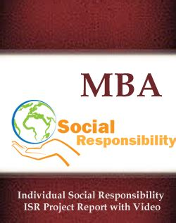 Mba Project On Corporate Social Responsibility Pdf by Free Project Abstract View Demo Of Mca