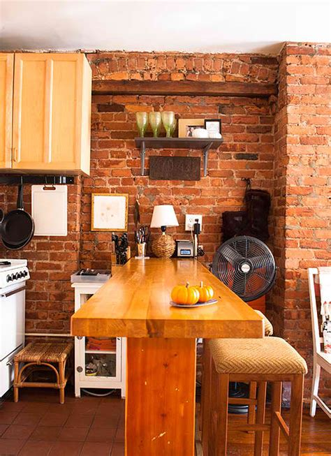 Brick Kitchen Design 10 fab kitchen ideas using brick walls decoholic