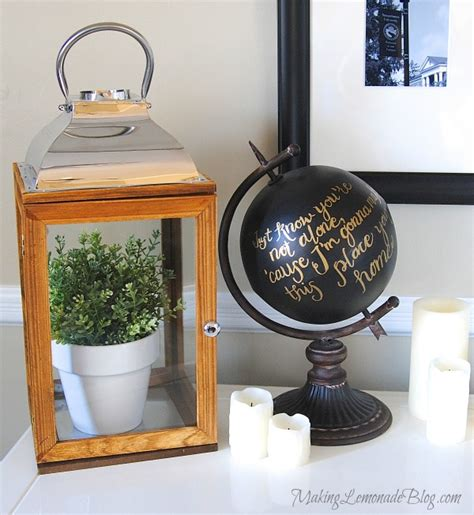 globe home decor diy chalkboard globe musings on change anthropologie