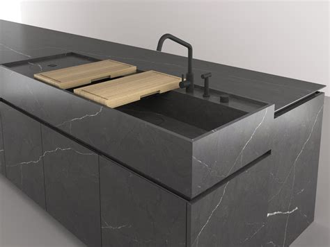 islanda cucina fitted kitchen with island boffi code kitchen by boffi
