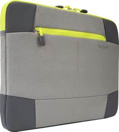 14 bex ii laptop sleeve tss878 gray yellow