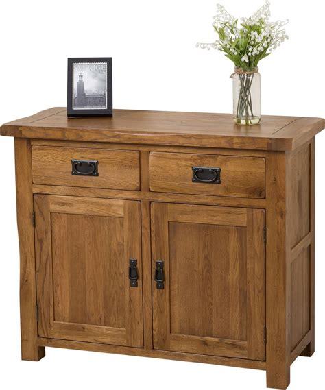 cotswold rustic small oak sideboard modern furniture direct