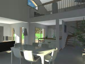 maison plein pied avec mezzanine