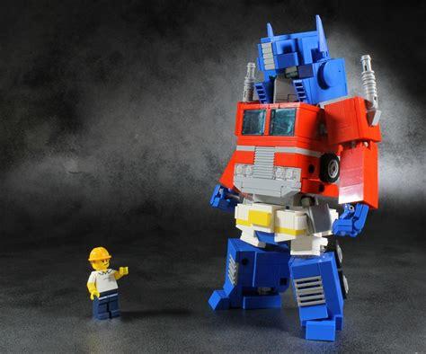 Transformer Optimus Prime Lego mecha lego transformers moc optimus prime
