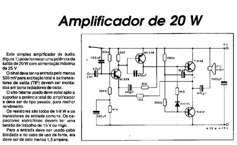 Kit Mono Aktif Speaker Tip 41 42 Ori Dms 990 projetos e esquemas