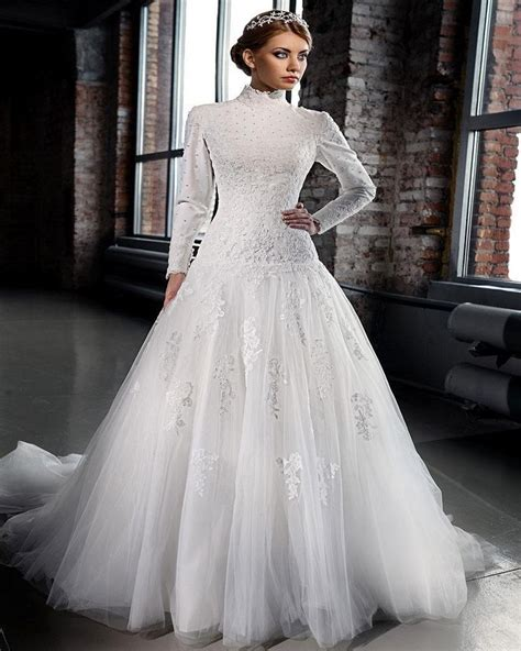 Islamic Plus Size Modest Wedding Dresses by Popular Islamic Wedding Gowns Buy Cheap Islamic Wedding