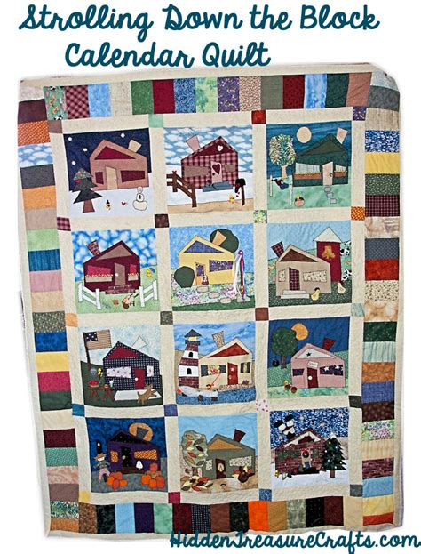 Calendar Quilts Block Of The Month Block Of The Month Treasure Crafts And Quilting