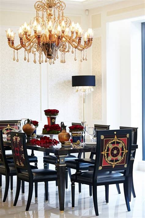 Salle A Manger Versace by Versace Home Obelisko Dining Table Chairs Dining