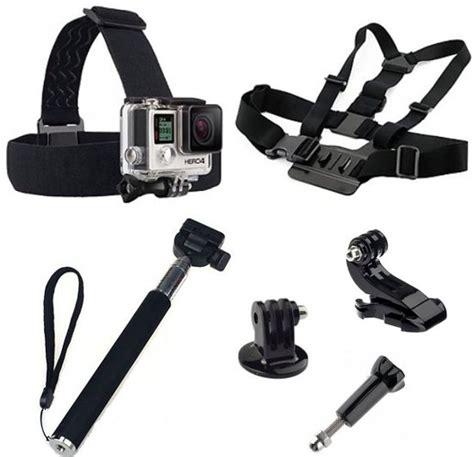 Shoot Selfie Set 3 In 1 For Gopro 34 bol 5 in 1 gopro accessoires set met selfie stick chest mount en voor gopro he