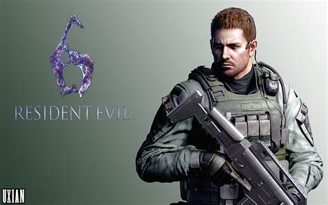 chris redfield re6 hd by uxianxiii on deviantart