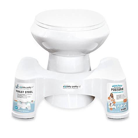 Squatty Potty Toilet Stool White 7 by Buy Squatty Potty 174 7 Inch Toilet Stool In White From Bed