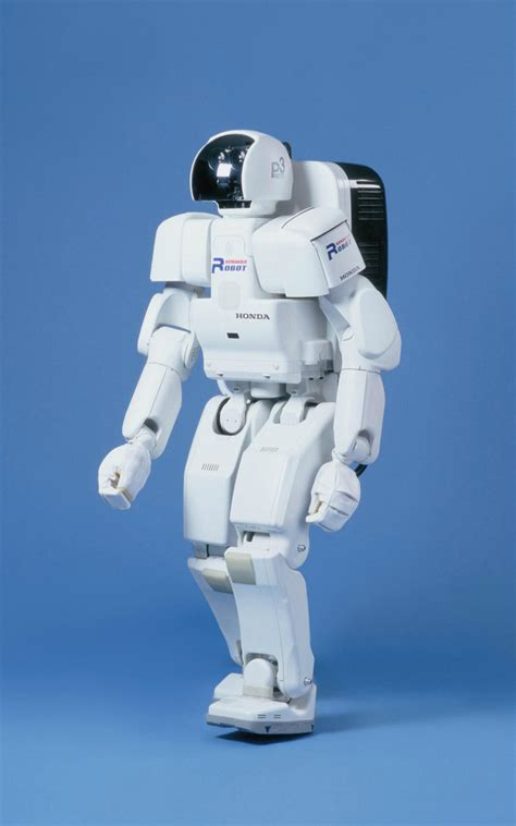 the robot and the the p series is a chronological progression of prototype humanoid robots