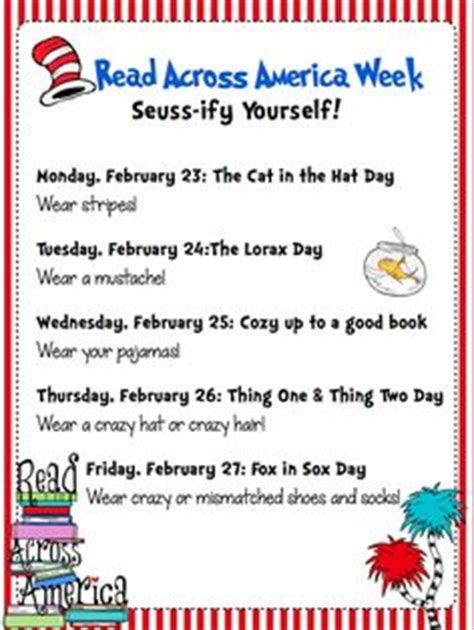 themes for reading week free poster for seuss read across america week 2015 time