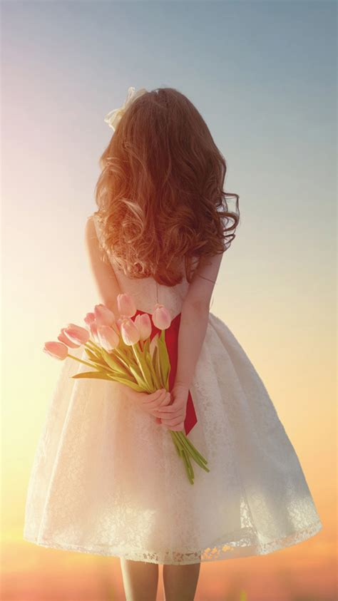 wallpaper iphone 7 girl romantic girl and rose iphone 7 wallpapers hd iphone 7