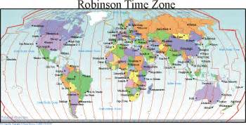 World Clock Map by World Time Zone Map Map Of World Map