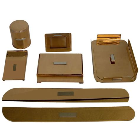 Desk Accessories Moderne Desk Accessories By Silvercrest Bronze Tftm