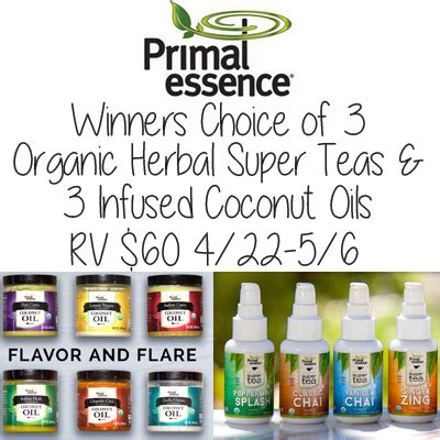 Rv Giveaway 2017 - primal essence spring 2017 giveaway rv 60 winner s choice jamericanspice