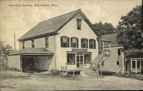 Sumner Post Office by Post Office Building West Sumner Me