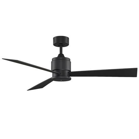 compatible ceiling fan fanimation fp4620bl black 54 quot 3 blade fansync compatible
