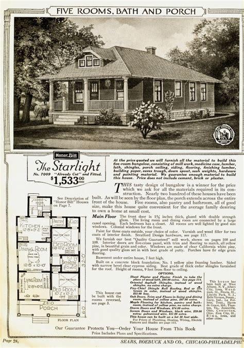sears kit house plans starlight sears kit house sears kit homes pinterest