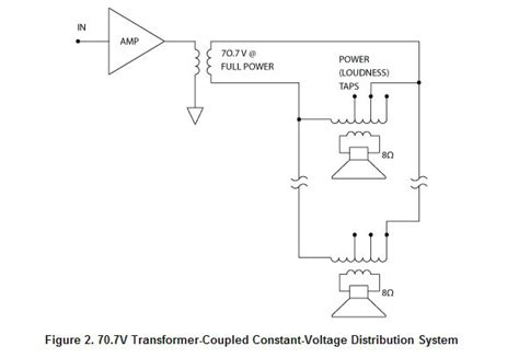 70 volt speaker transformer wiring 70 free engine image