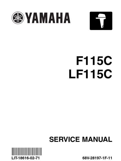 yamaha outboard motor service manual yamaha outboard f115 service repair manual throttle