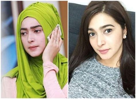 tutorial jilbab nabila syakib 6 artis ini terlihat lebih cantik ya ketika menggunakan