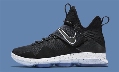 lebron 14 shoes black nike lebron 14 921084 002 release date sole