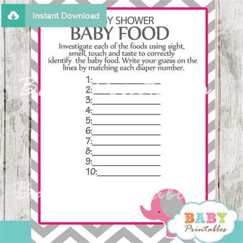 Book Theme Baby Shower by Pink Elephant Baby Shower Games Bundle D103 Baby