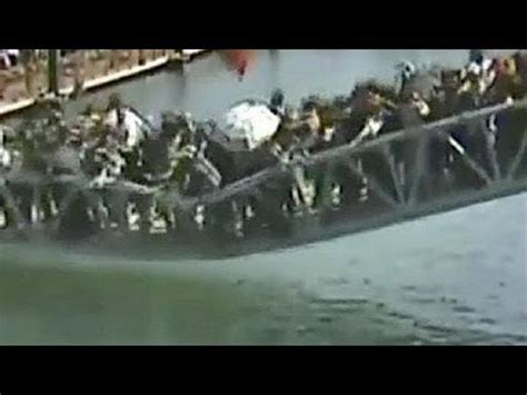 china bridge collapse caught on camera no comment youtube
