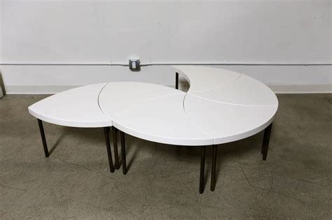 modular coffee table modernist modular quot pinwheel quot coffee table for sale at 1stdibs