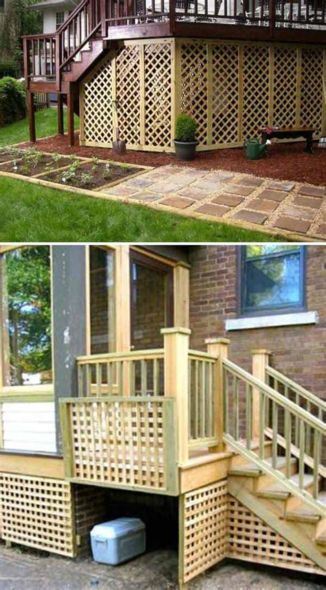 cool ways to use lattices for inside or outside projects
