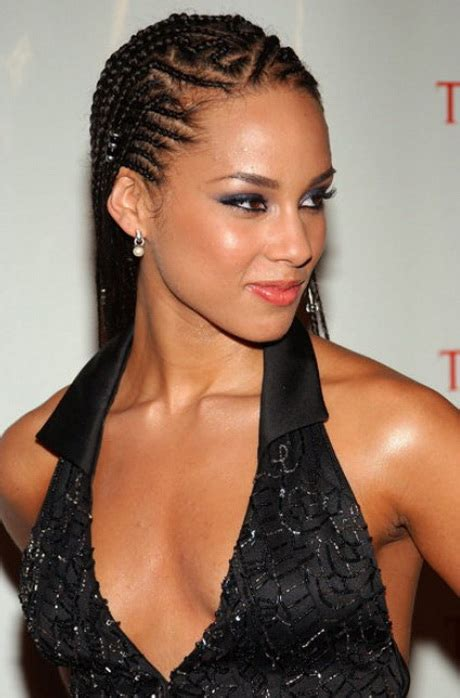 Alicia Keys Hairstyles Cornrows And Braid 2015 For Black | alicia keys braids hairstyles