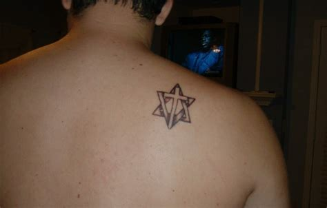 mens small back tattoos shoulder tattoos for tattoofanblog
