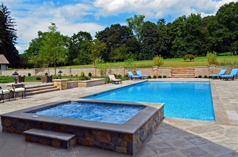 inground lap pool far hills nj inground swimming pool awarded for design