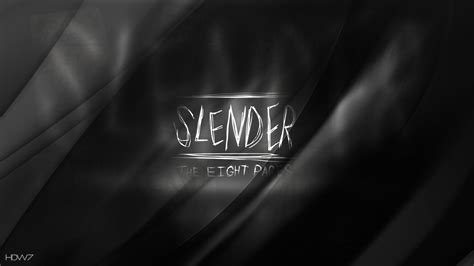 wallpapers gamers slender games slender the eight pages horror game wallpaper hd