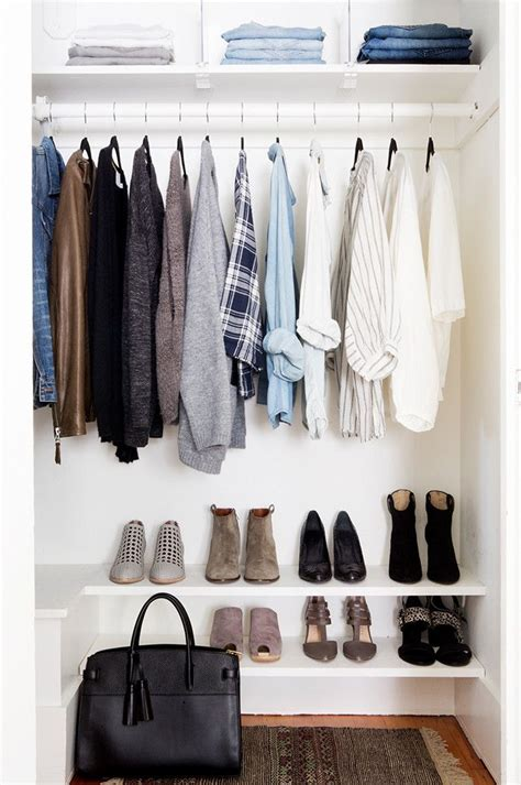 closet clothing how to actually fit all your clothes in a tiny closet