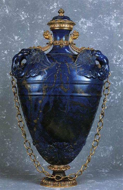 Free Vase Lapis Lazuli Gold Gilded Copper Vase 1583 Museo Degli