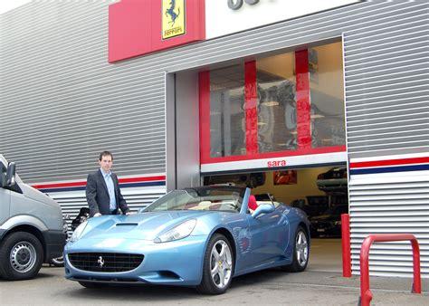 ferrari dealership showroom sara supplies ferrari dealership with high speed door