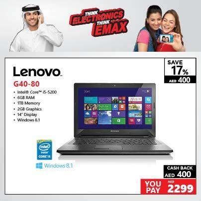 Laptop Lenovo G40 September lenovo g40 80 laptop amazing offer at emax